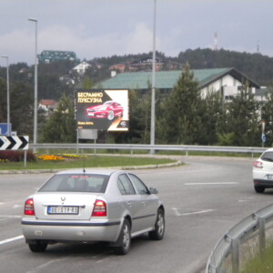 Zlatibor, mg put Beograd - Podgorica, OUTDOOR led bilbord