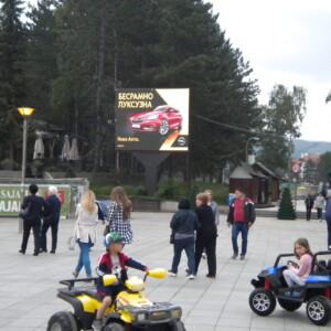 Zlatibor, centralni plato, OUTDOOR led bilbord