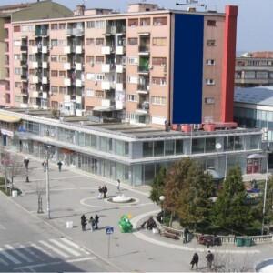 Jagodina, strogi centar, ulica Kneginje Milice, OUTDOOR fasadna reklama