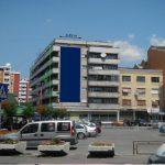 Zaječar, centar, ulica Krfska, OUTDOOR fasadna reklama