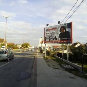 Čačak, Konjevići, ulica Đorđa Tomaševića, OUTDOOR bilbordi