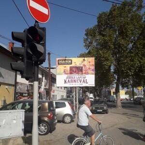 Šabac, LIDL, ul. Kralja Milutina- Miloša Pocerca, OUTDOOR bilbordi