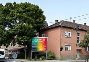 Kostolac, epi-centar, ulica Bože Dimitrijevića, OUTDOOR bilbordi