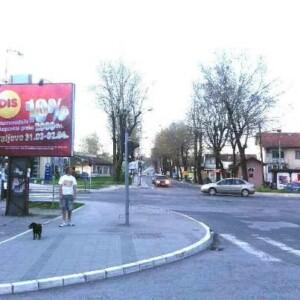 Kraljevo, kod male pijace, ulica Vojvode Stepe, OUTDOOR bilbordi