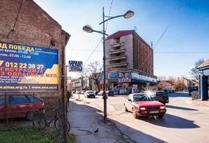 Požarevac, uži centar, ulica Voje Dulića, OUTDOOR bilbordi