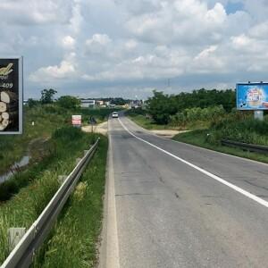 Inđija, periferija, magistralni put Novi Sad - Beograd, OUTDOOR bilbordi