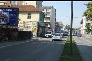 Kraljevo, centar, ulica Dimitrija Tucovića, OUTDOOR bilbordi