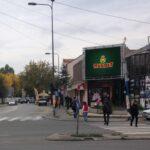 Kragujevac, medicinska škola, OUTDOOR led bilbord