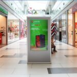 Kragujevac, PLAZA shopping center, INDOOR led totem