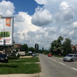 Stara Pazova, periferija, Cara Dusana - Nova Pazova, OUTDOOR bilbordi