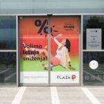 Kragujevac, PLAZA shopping center, OUTDOOR ulazna vrata
