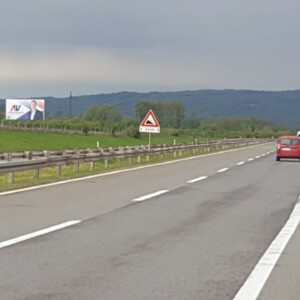 Ražanj, periferija, autoput BG-NIŠ, OUTDOOR megaboard