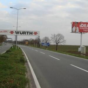 Beograd-Surčin, Aerodrom Nikola Tesla, OUTDOOR bigboard