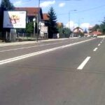 Kragujevac, ulica Avalska, OUTDOOR bilbordi