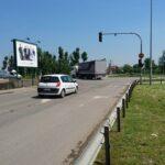 Novi Sad, ulaz na Najlon pijacu, ulica Temerinski put, OUTDOOR bilbordi