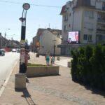 Beograd-Obrenovac, centar, OUTDOOR led bilbordi