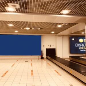 Beograd-Surčin, Aerodrom Nikola Tesla, Terminal 2, INDOOR bigboard