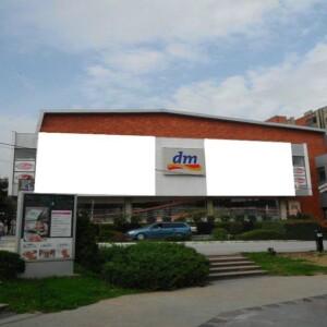 Vranje, centar, OUTDOOR fasadna reklama