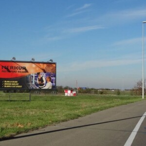 Beograd-Surčin, Aerodrom Nikola Tesla, OUTDOOR megaboard