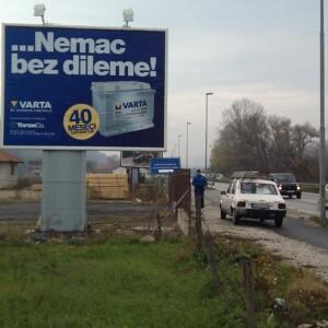 Čačak, Parmenac, Bulevar Oslobodilaca Čačka, OUTDOOR bilbordi