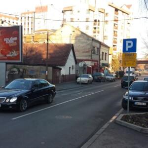 Smederevo, centar, ulica Miloša Velikog, OUTDOOR bilbordi
