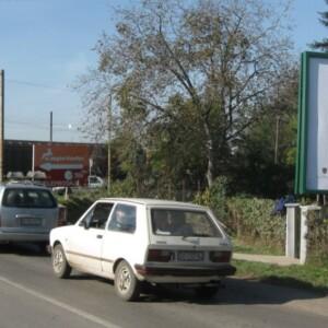 Bačka Topola, ulaz u grad, OUTDOOR bilbordi
