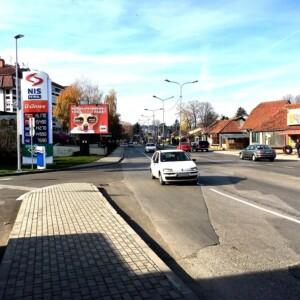Kraljevo, širi centar, ulica Dimitrija Tucovića, OUTDOOR bilbordi