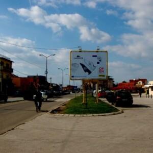 Paraćin, autobuska stanica, OUTDOOR bilbordi