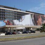 Beograd-Novi Beograd, hotel Jugoslavija, OUTDOOR fasadna reklama