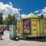 Beograd-Zvezdara, Ruzveltova, OUTDOOR led bilbordi kiosk