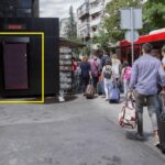 Beograd, ulica Cara Nikolaja, OUTDOOR led bilbordi kiosk