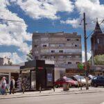 Beograd, ulica Džordža Vašingtona, OUTDOOR led bilbordi kiosk
