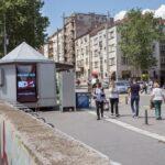 Beograd-Palilula, centar, OUTDOOR led bilbordi kiosk