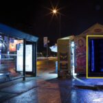 Beograd-Žarkovo, ulica Trgovačka, OUTDOOR led bilbordi kiosk