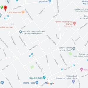 Subotica, centar, OUTDOOR led bilbordi
