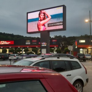 Jagodina, VIVO shopping park, OUTDOOR led bilbordi