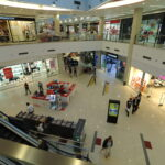 Beograd-Novi Beograd, DELTA CITY shopping center, INDOOR led totemi