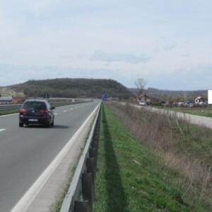 Batočina, autoput E75, OUTDOOR megaboard
