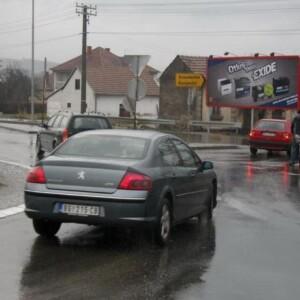 Čačak, naselje Konjevići, OUTDOOR bilbordi
