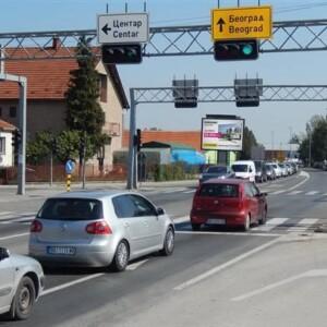 Čačak, Bulevar Oslobodilaca Čačka, OUTDOOR bilbordi