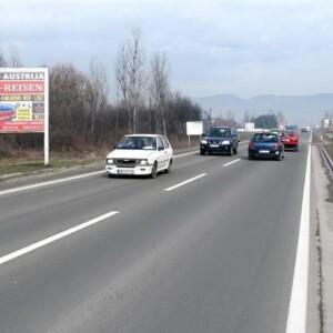 Gornji Milanovac, Ibarska magistrala, OUTDOOR bilbordi