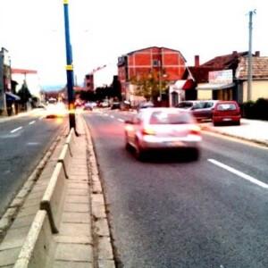 Kragujevac, ulica bulevar Kneza Mihaila, OUTDOOR bilbordi