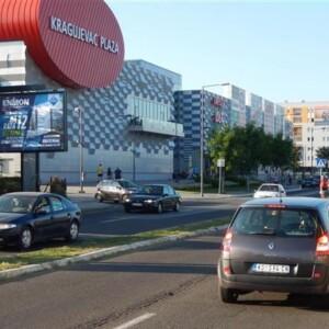 Kragujevac, ulica bulevar Kraljice Marije, OUTDOOR bilbordi