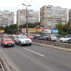 Beograd-Voždovac, Plavi most, OUTDOOR bilbordi