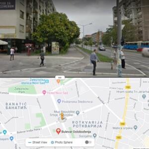 Novi Sad, Železnička stanica, OUTDOOR totemi