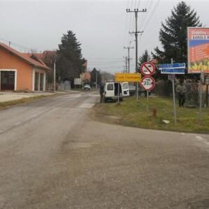 Inđija, naselje Slankamen, OUTDOOR bilbordi