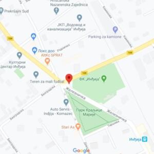 Inđija, centar, OUTDOOR megaboard