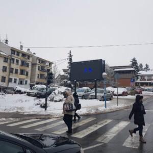 Beograd-Lazarevac, zgrada opštine, OUTDOOR led bilbordi