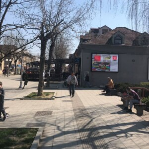 Beograd-Lazarevac epi centar, OUTDOOR led bilbordi