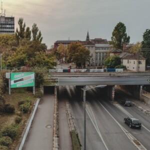 Subotica, širi centar, OUTDOOR led bilbordi